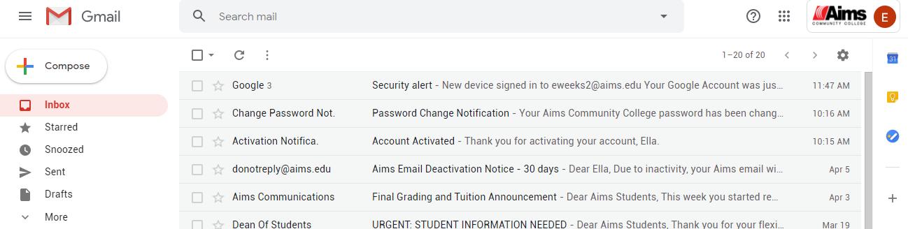 艾姆斯社区学院邮箱申请