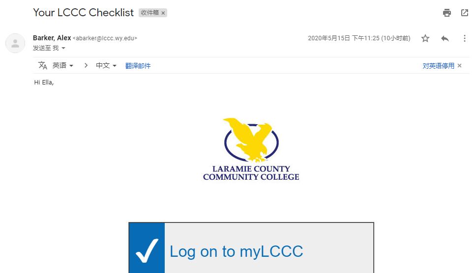 拉勒米县社区学院邮箱申请