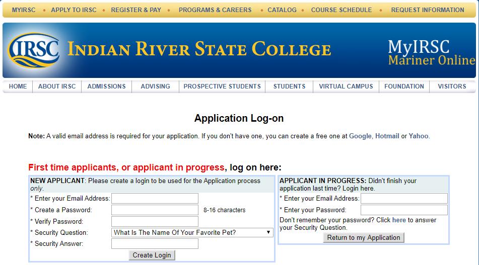印度河州立学院邮箱申请