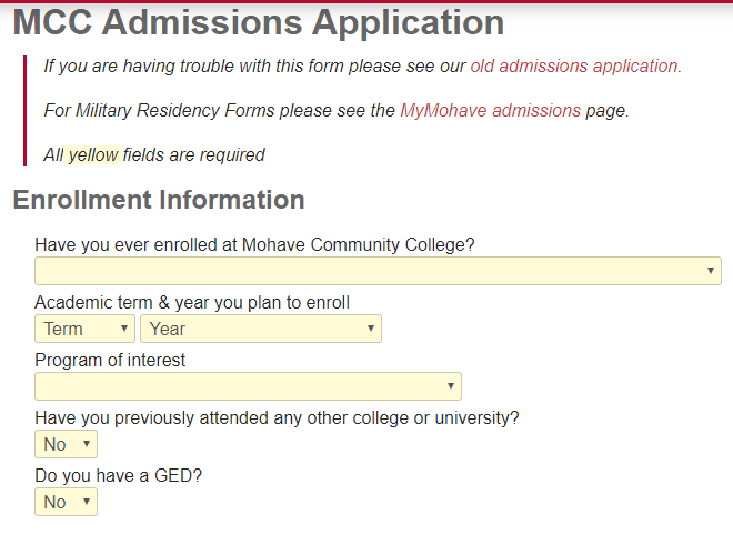 莫哈维社区学院邮箱申请