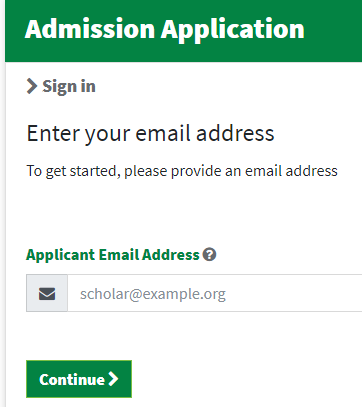 帕克兰学院邮箱申请