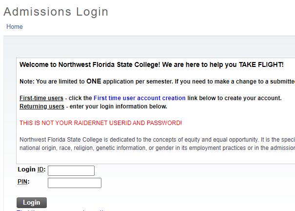 西北佛罗里达州立学院邮箱申请